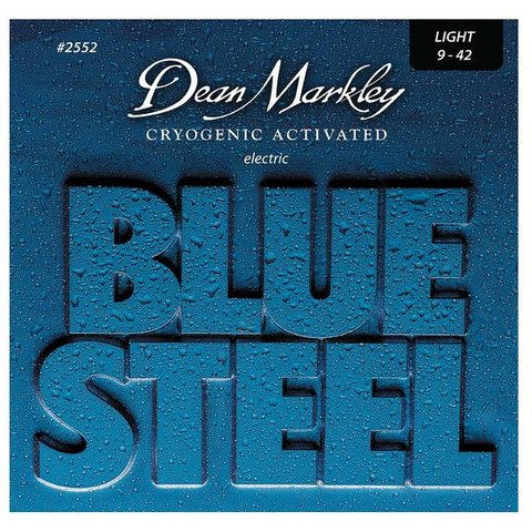 Dean Markley 2552 Blue Steel Electric Guitar Strings 9-42 Light