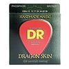 DR DSA-13 Dragon Skin Coated Acous Strings, Phosphor Bronze, Medium/Heavy, 13-56