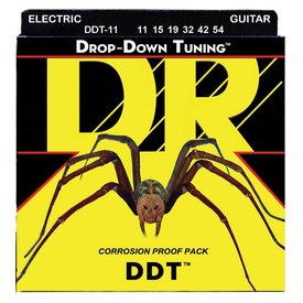 DR Strings DR Strings DDT-11 Heavy DDT: Drop Down Tuning: 11, 15, 19, 32, 42, 54