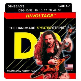 DR Strings DR Strings DBG-10/52 Big/Hvy Dimebag Darrell Nickel Pltd: 10, 13, 17, 30, 44, 52