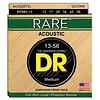 DR Strings RPMH-13 Medium RARE Phosphor Bronze Acoustic: 13, 17, 26, 34, 45, 56