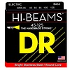 DR Strings MR5-45 Medium 5's HI-BEAM  - Stainless Steel: 45, 65, 85, 105, 125