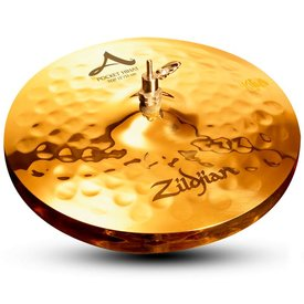 """Zildjian Zildjian A0145 13"""" A Zildjian Pocket Hi Hats - Top"""