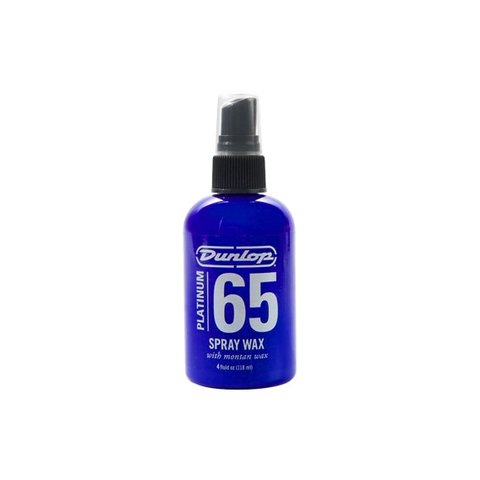 Dunlop P65WX4 Platinum 65 Spray Wax 4Oz