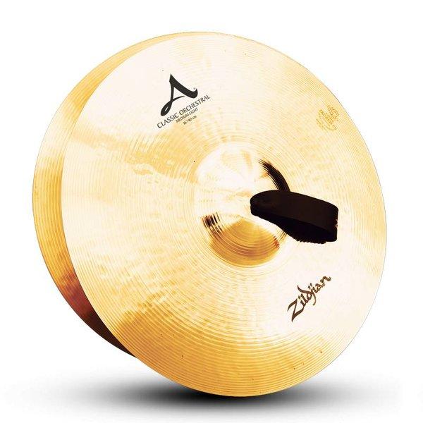 """Zildjian Zildjian A0751 16"""" Classic Orchestral Selection Medium Light Pair"""