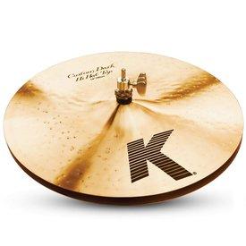 """Zildjian Zildjian K0944 14"""" K Custom Dark Hi Hat - Top"""