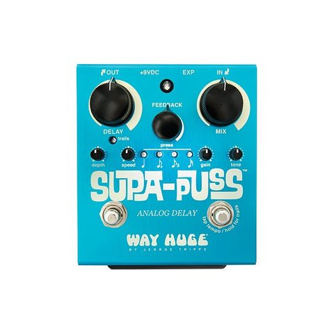 Way Huge WHE707 Supa Puss Analog Delay W/ Tap Tempo