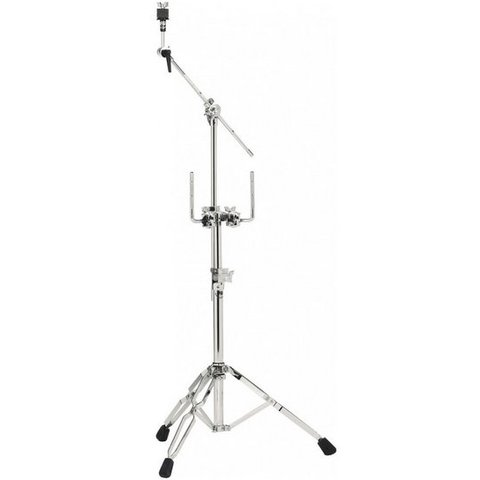 DW 9000 Series Double Tom Stand W/934 Cymbal Boom Arm