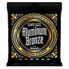 2564 Ernie Ball Aluminum Bronze Acoustic Strings .013-.056 Medium