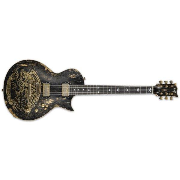 ESP ESP WILL ADLER WARBIRD Will Alder Signature Series Electric Guitar Distressed