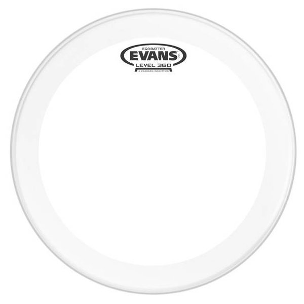 Evans Evans EQ3 Frosted Bass Drum Head