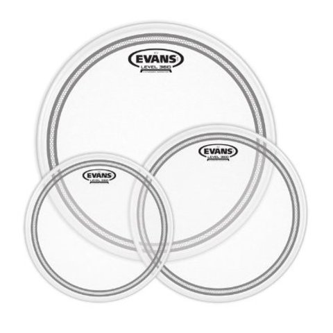 Evans EC2 Tompack, Coated, Rock (10 inch, 12 inch, 16 inch)