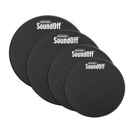 Evans SoundOff by Evans Drum Mute Pak, Fusion (10,12,14,14)