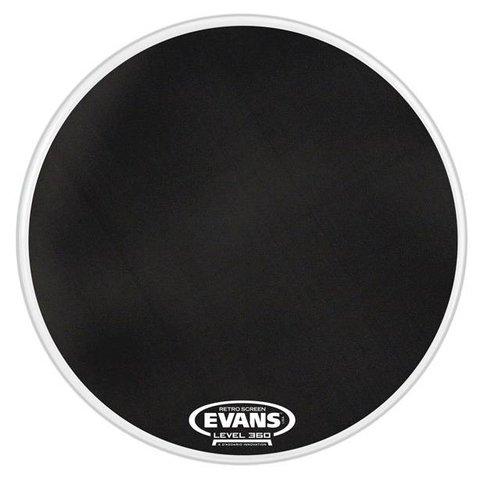 Evans Retro Screen Resonant Bass Drum Head, 22 Inch
