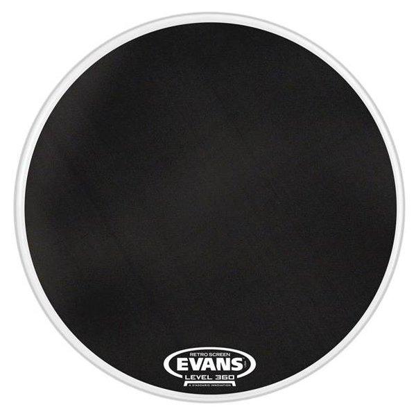 Evans Evans Retro Screen Resonant Bass Drum Head, 22 Inch