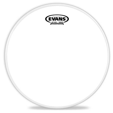 Evans Power Center Reverse Dot Drum Head