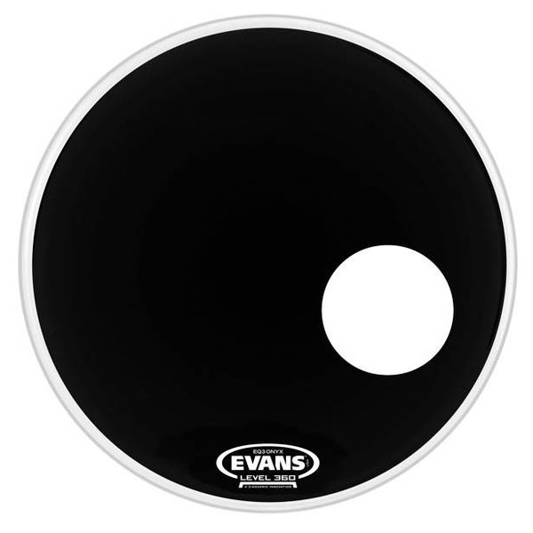 Evans Evans ONYX Resonant Bass Drum Head