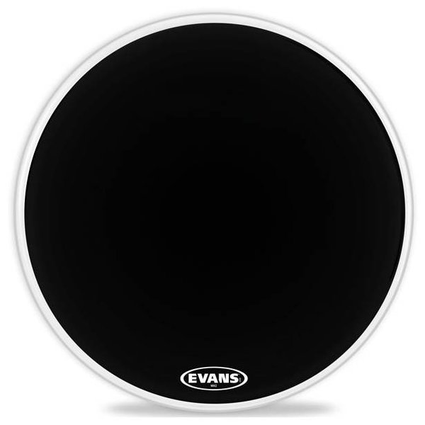 Evans Evans MX2 Black Marching Bass Drum Head