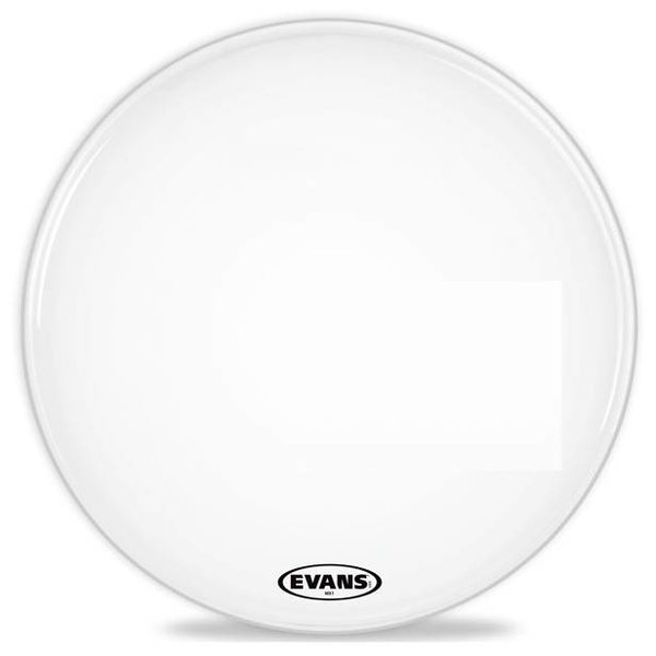 Evans Evans MX1 White Marching Bass Drum Head