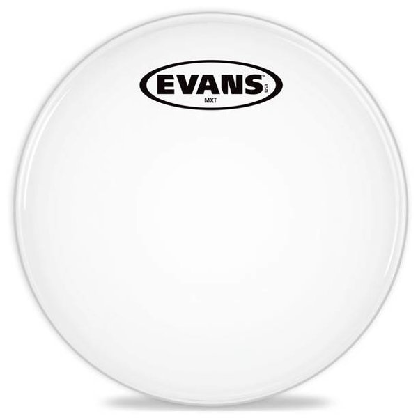 Evans Evans MX White Marching Tenor Drum Head
