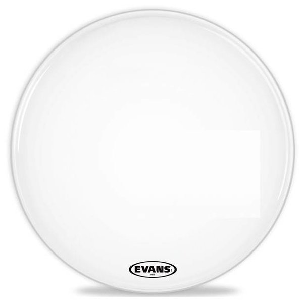 Evans Evans MS1 White Marching Bass Drum Head