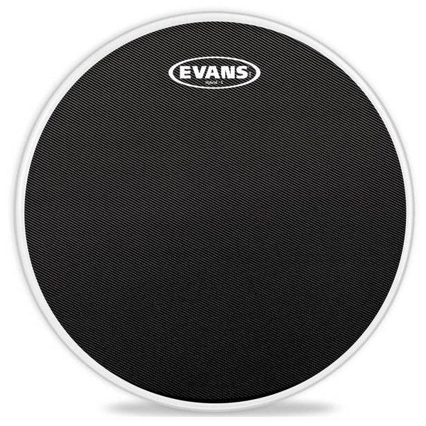 Evans Evans Hybrid-S Black Marching Snare Drum Head, 13 Inch