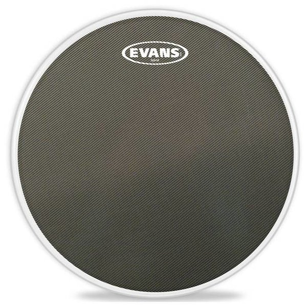 Evans Evans Hybrid Grey Marching Snare Drum Head, 13 Inch