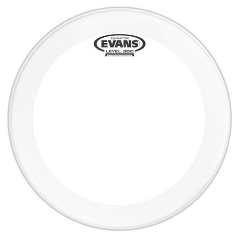 Evans EQ4 Frosted Bass Drum Head