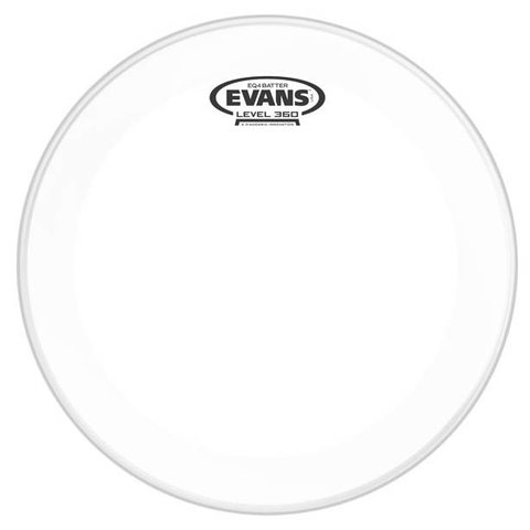 Evans EQ4 Clear Bass Drum Head