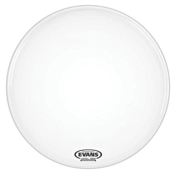 Evans Evans EQ3 Resonant Smooth White Bass Drum Head, No Port, 22 Inch