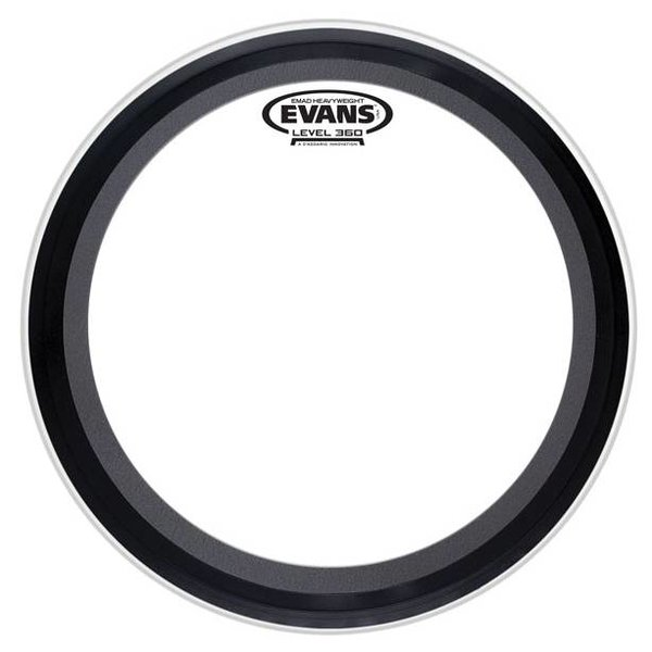 Evans Evans EMAD Heavyweight Clear Bass Drum Head