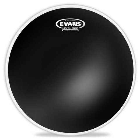 Evans Black Chrome Drum Head