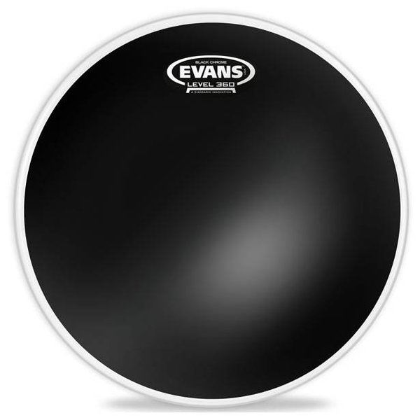 Evans Evans Black Chrome Drum Head