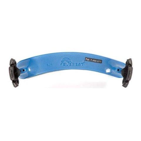 Everest Violin Shoulder Rest, 4/4 Size, Blue