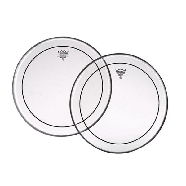 Remo Remo Pinstripe Clear Drumhead