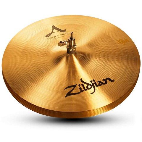 """Zildjian A0134 14"""" A Zildjian New Beat Hi Hat - Top"""