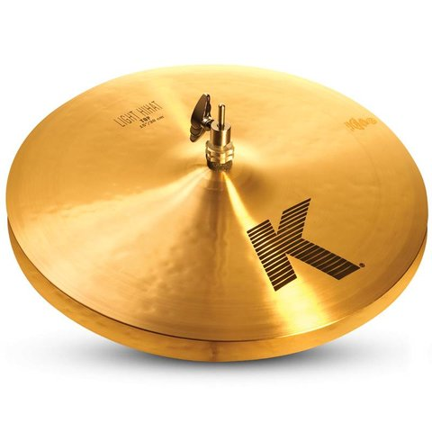 "Zildjian K0924 15"" K Light Hi Hat - Top"