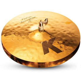 "Zildjian Zildjian K0994 14"" K Custom Session Hi Hat - Top"