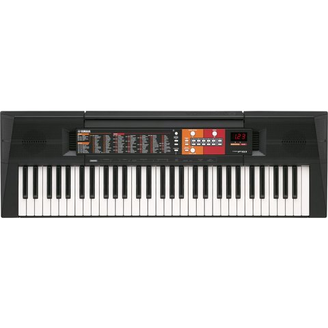 Yamaha PSR-F51 61-Key Entry-Level Portable Keyboard w/ FREE PA130 Power Adapter