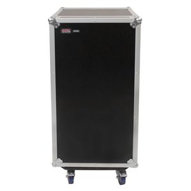 Gator Gator G-TOUR 10X16 PU 10U Top, 16U Side Audio Road Rack Case