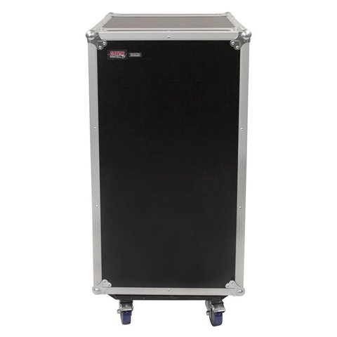 Gator G-TOUR 10X16 PU 10U Top, 16U Side Audio Road Rack Case