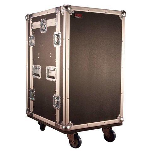 Gator G-TOUR 10X14 PU 10U Top, 14U Side Audio Road Rack Case