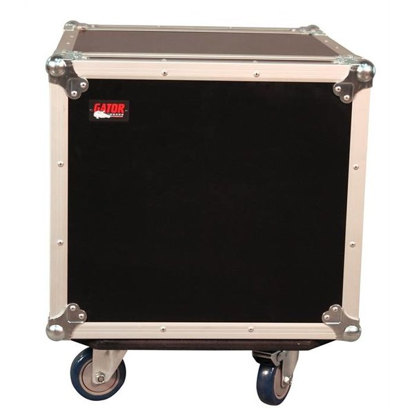 Gator Gator G-TOUR 10U CAST 10U, Standard Audio Road Rack w/ Casters