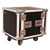 Gator G-TOUR 10U CAST 10U, Standard Audio Road Rack w/ Casters
