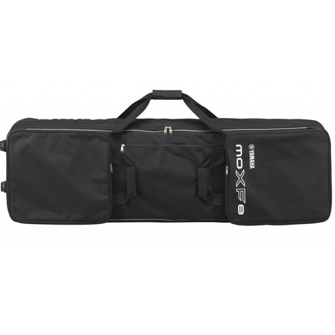 Yamaha MOXF8 BAG Zippered, Padded Bag With Wheels, Handles And 3 Pockets for Pedals, Music, Cables And Accessories
