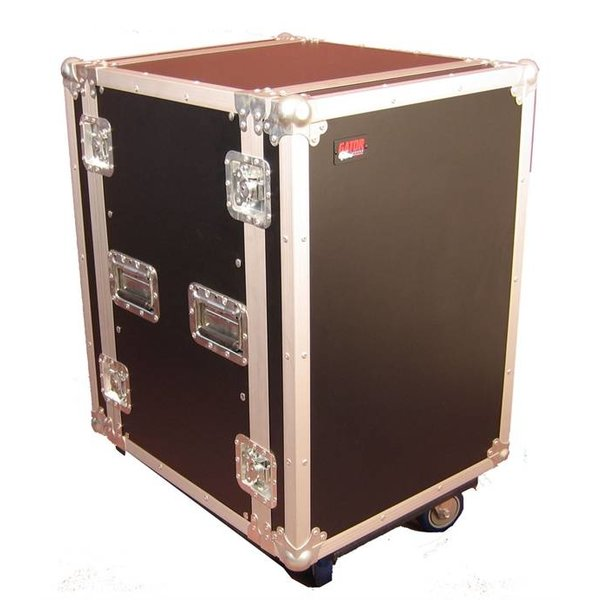 Gator Gator G-TOUR 14U CAST 14U, Standard Audio Road Rack Case w/ Casters