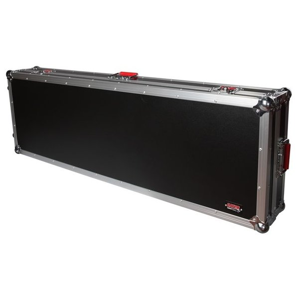 Gator Gator G-TOUR 88V2 88 Note Road Case w/ wheels
