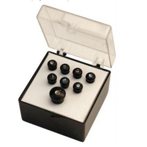Martin Pin Sets, Black/Pearl