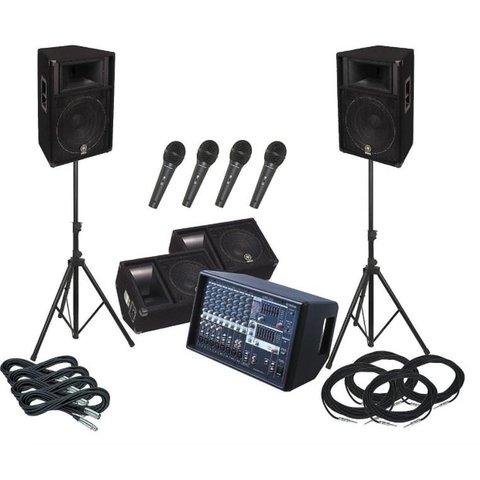 Yamaha EMX512SC/BR15 BUNDLE 1 EMX512SC and 2 BR15