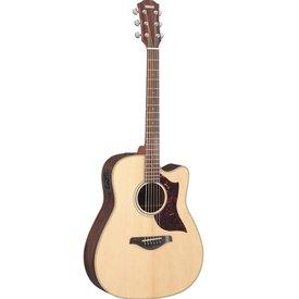 Yamaha Yamaha A1RHC Folk Cutaway Acoustic Electric Rosewood w/ Case